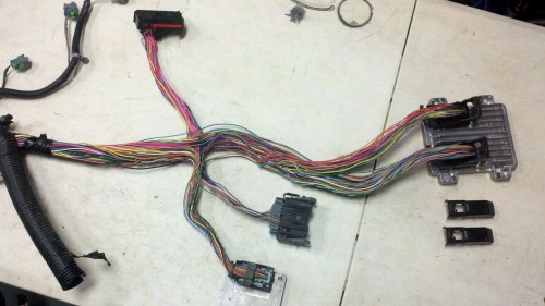 small resolution of wiring harnes for truck
