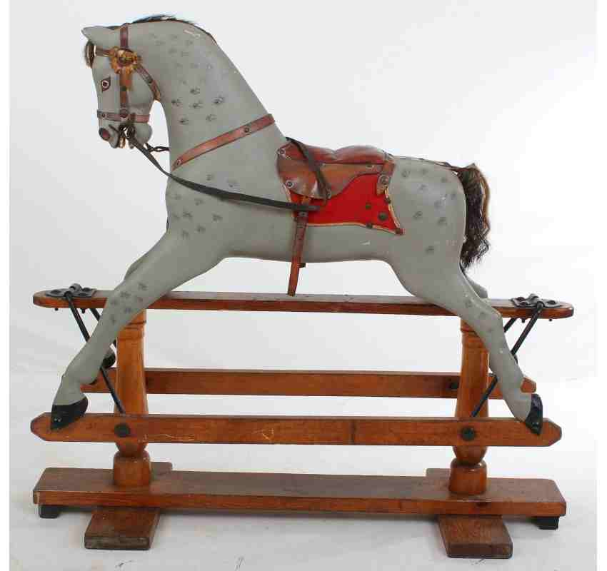 pretty office chairs metal stacking victorian rocking horse