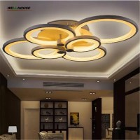 Acrylic simple dome light two lamp flush mount ceiling ...