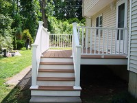 Massachusetts Composite Deck Photo Gallery - Worcester ...