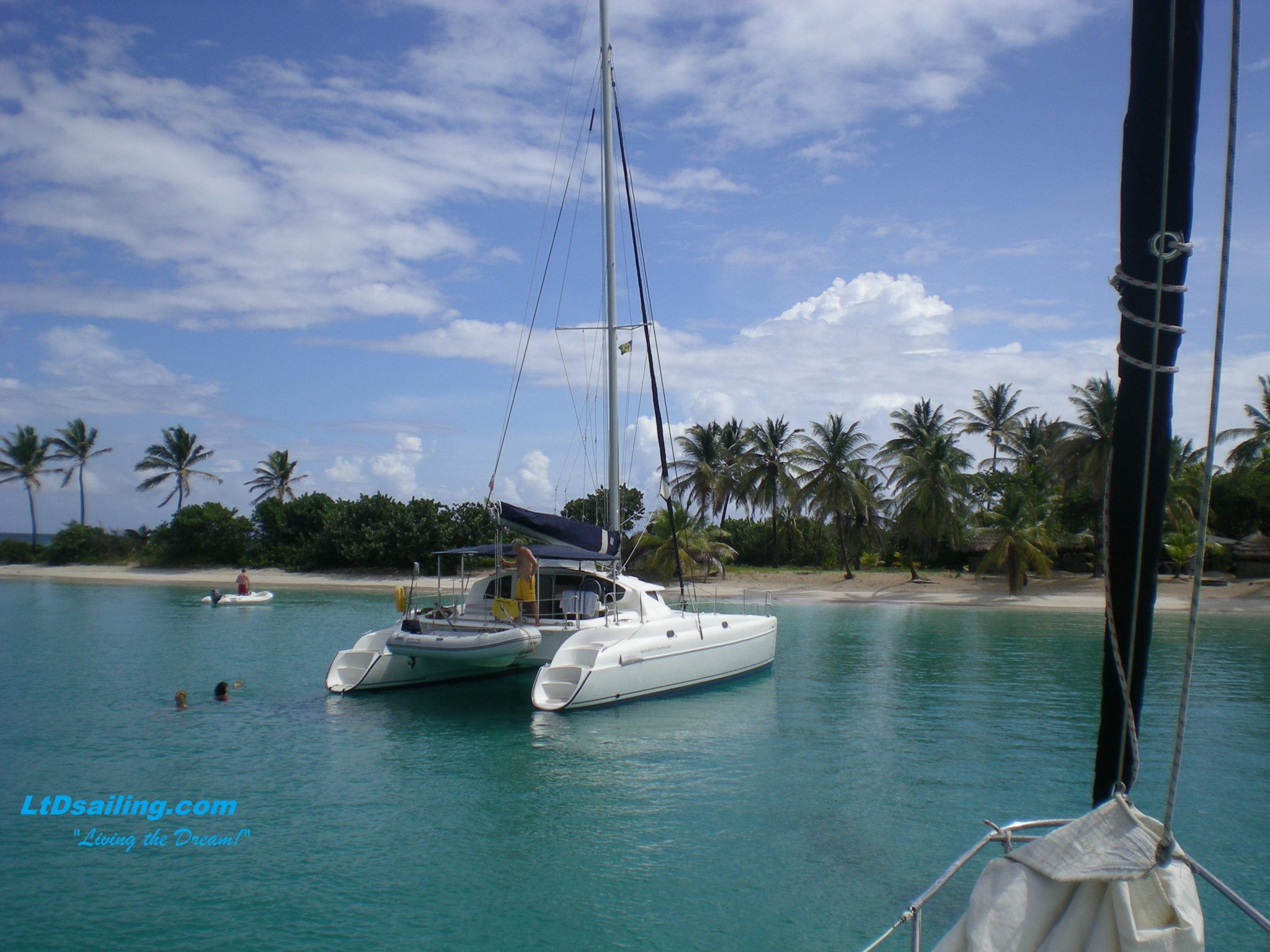 Caribbean Catamaran Sailing School LtD Sailing