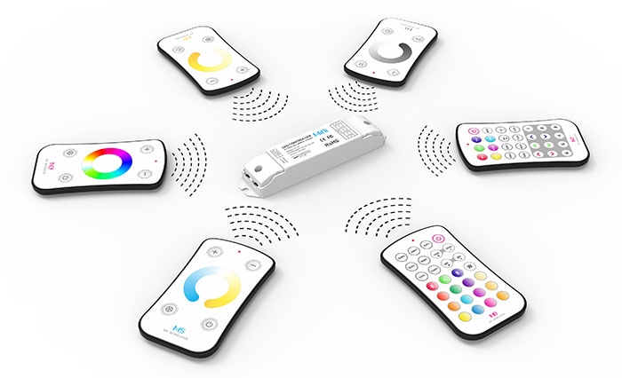 LED Controller,Mini LED Controller,2.4G Remote Controller