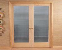 Reed Doors & French Doors With Reed/Ribbon Handles - SOLD