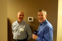 Steward Klipsch and David Jones at LTnow Open House