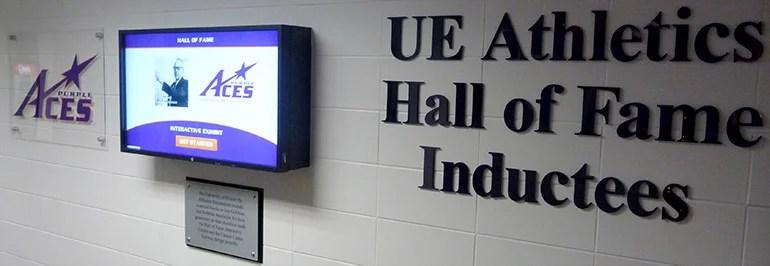purple aces hof display