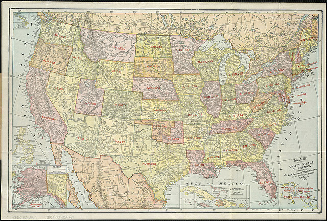 United States Map Google Analytics