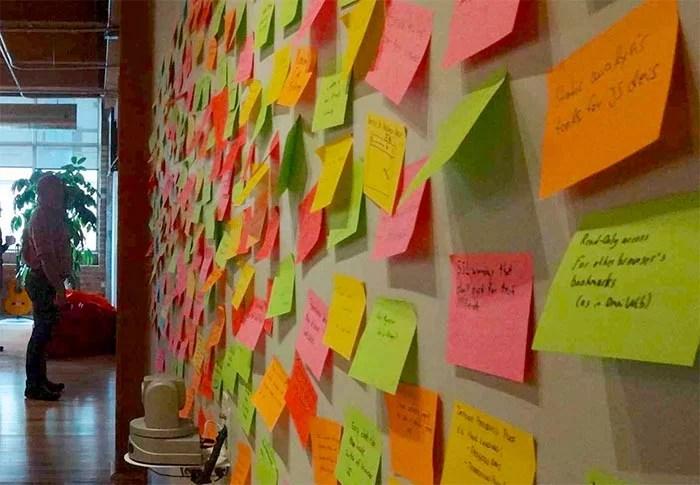 content idea wall