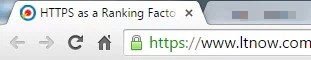 https in url bar of browser
