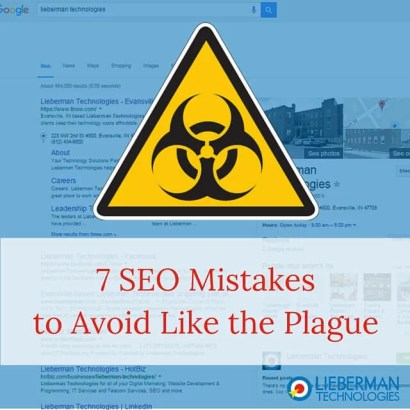 SEO Mistakes to Avoid Like the Plague