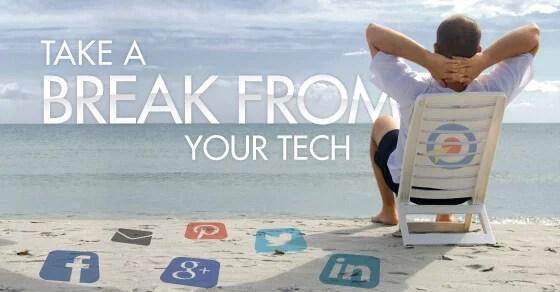 de-stress from technology
