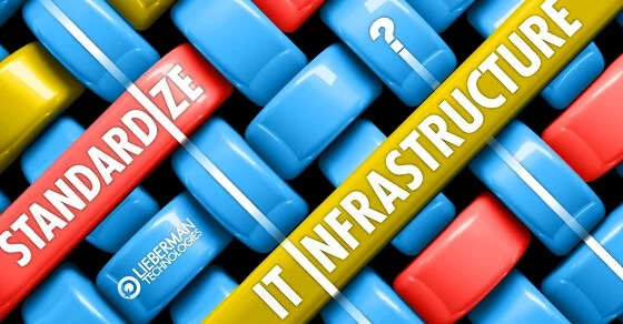 Can you standardize IT Infrastructure? graphic