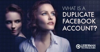 What is a duplicate facebook account?