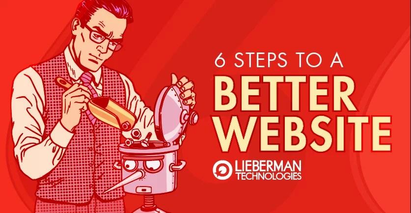 6 steps to a better website