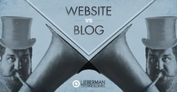 business website or blog