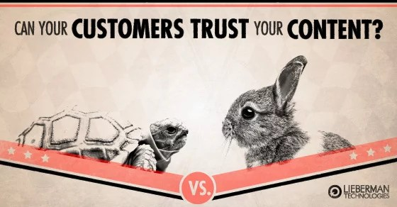 building trust with the content on your website