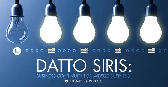 datto siris business continuity for midsize business SMB