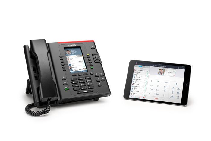 Verge 9312 Phone and iPad work together