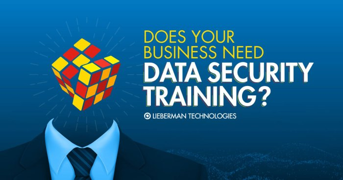 Does your business need data security training?