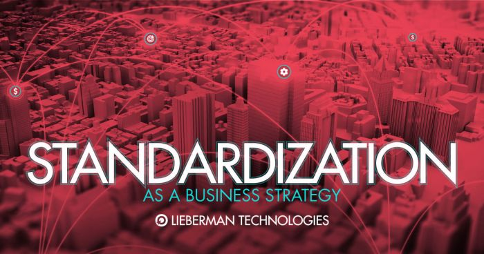 Standardization As A Business Strategy