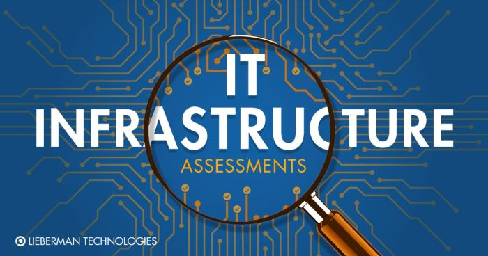 IT infrastructure assessment