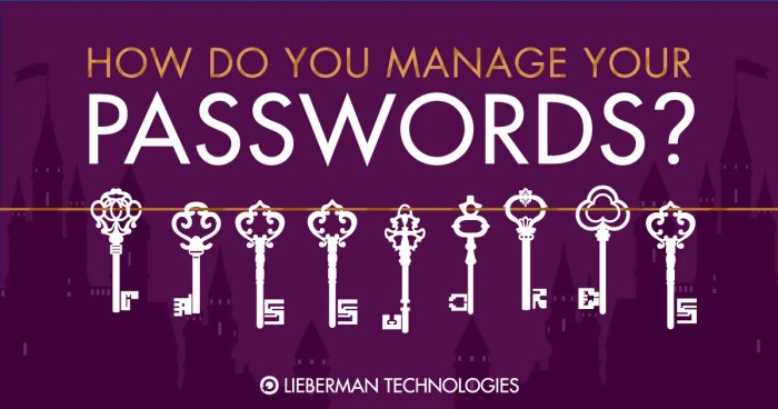 How Do You Manage Your Passwords