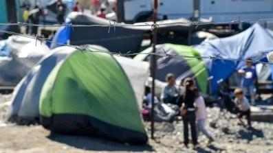 Flüchtlingscamp auf Idomeni, 2016
