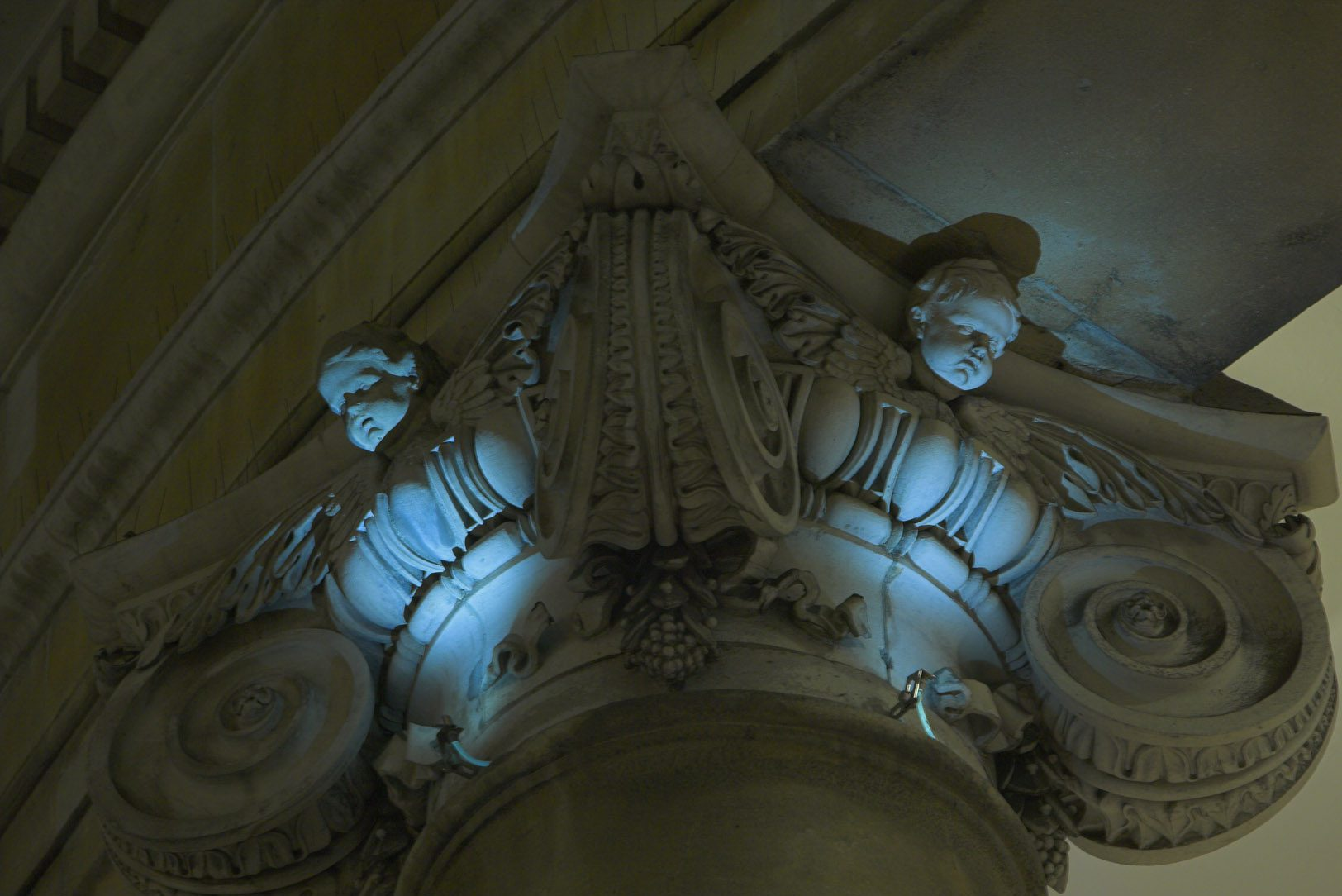 All Souls Church Architectural Lighting - Exterior and Interior Lighting for Buildings
