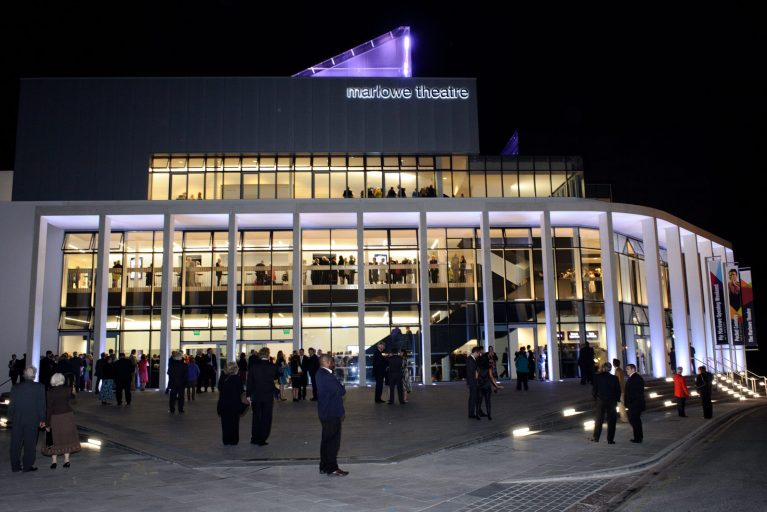Exterior and Interior Lighting for Buildings - Marlowe Theatre - LTP Integration