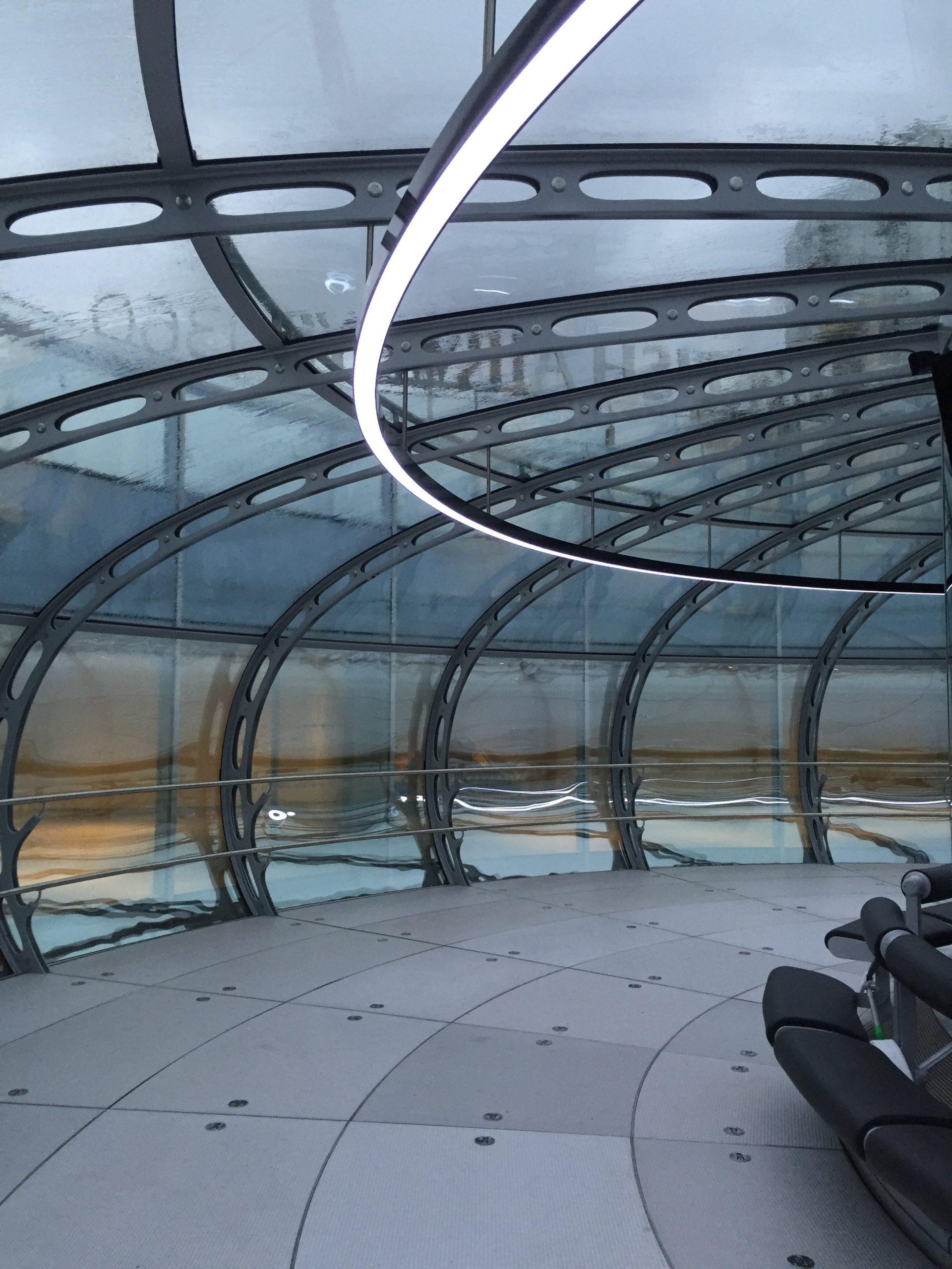 Brighton i360 Observation Tower Interior - LTP Integration