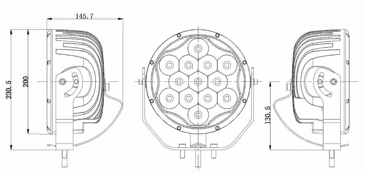LED UltraLux DL011-C Combo ECE