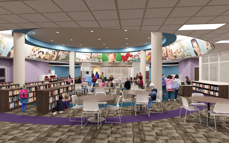 Bane Elementary School - Library