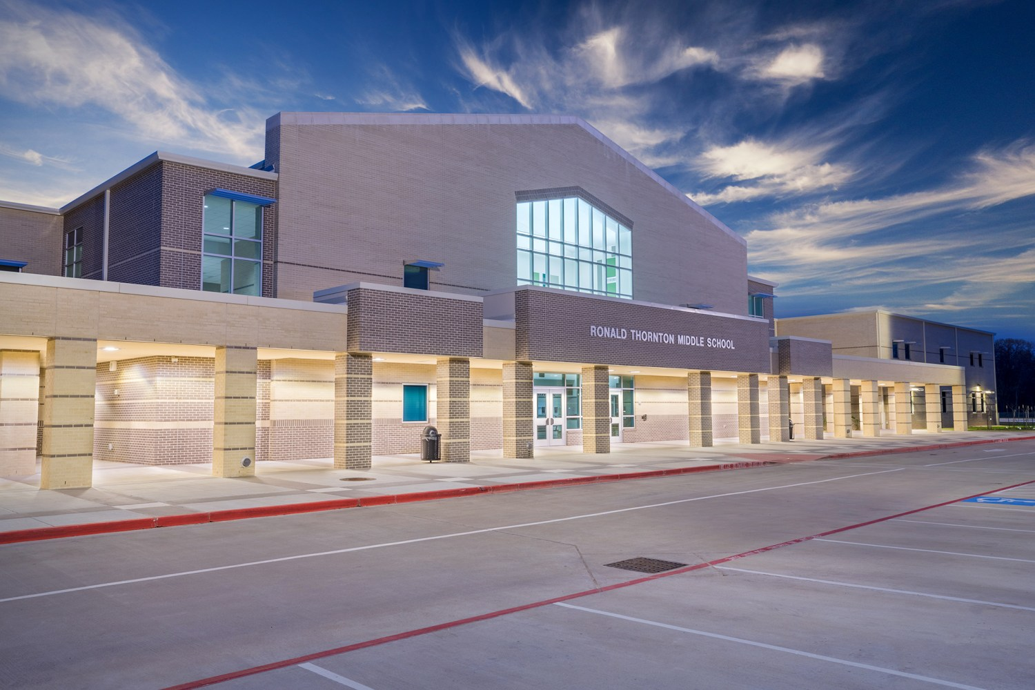 Ronald Thornton Middle School - Front entrance