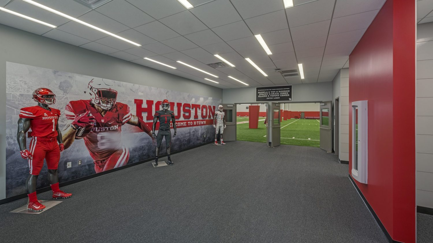 University of Houston Indoor Football Facility - Cougar Hall