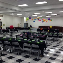Renting Tables And Chairs Shermag Glider Chair Parts Hall Rental   Local Union 25