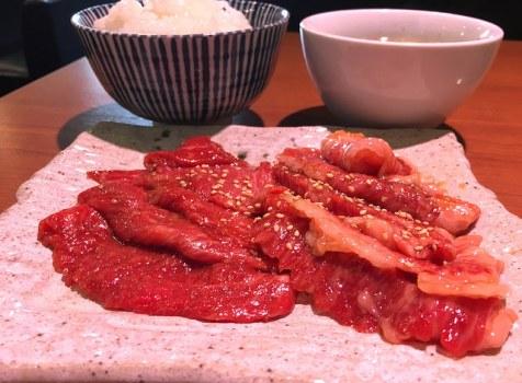ランチ焼肉890円から!お肉もちゃんとしていてお得。@焼肉の三是(幡ヶ谷)