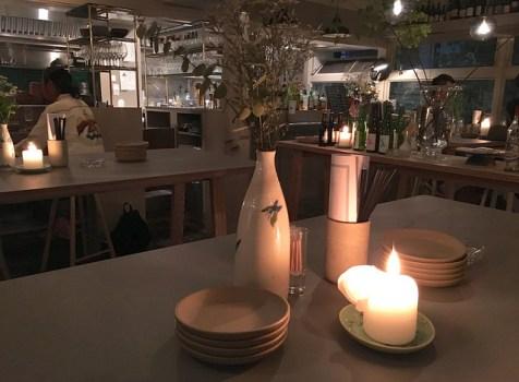 上原系オシャレ立ち飲み。ギャラリー&レストランが融合する空間。@アエル(代々木上原)