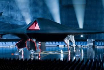 El avión de ataque Taranis
