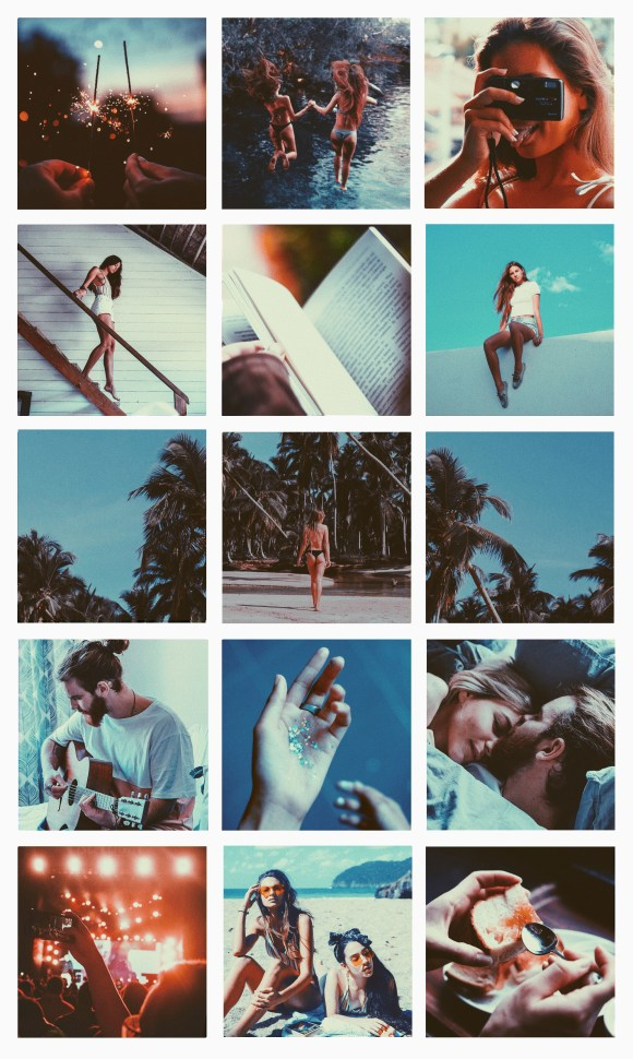 Instagram Feed Aesthetic: Analog Summer ⋆ Lu Amaral Studio