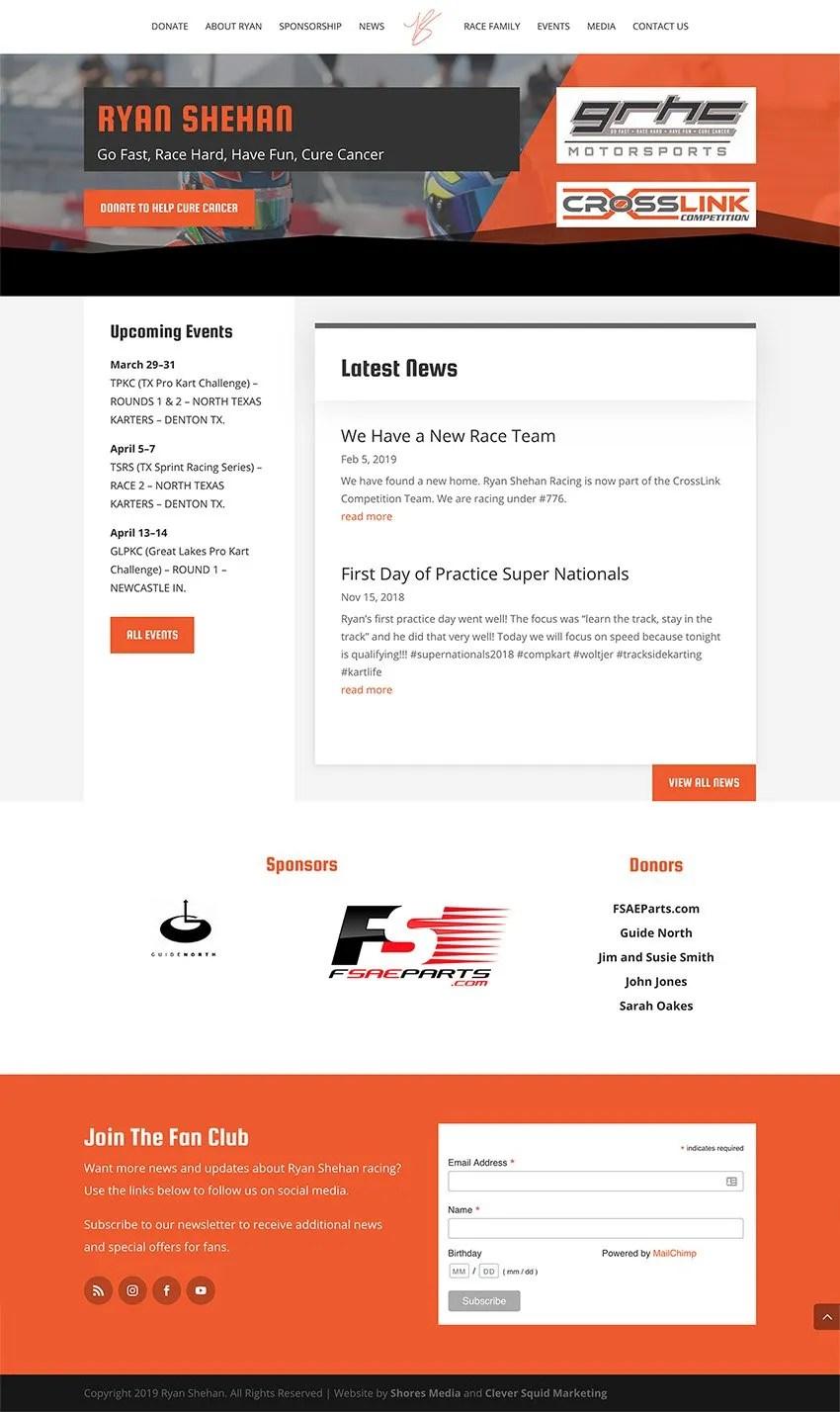 Ryan Shehan Website Shores Media