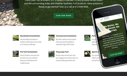 Website and Marketing for Third Coast Turf & Greens
