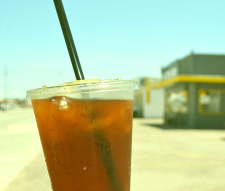 Iced Coffee/100° Day