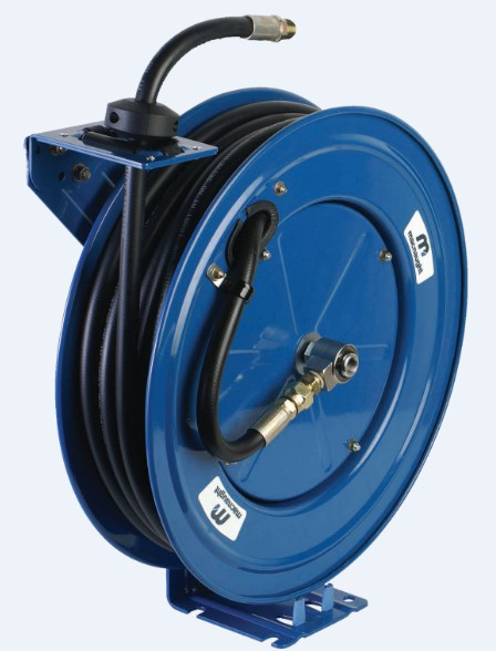 Grease Hose Reels  Lube Control