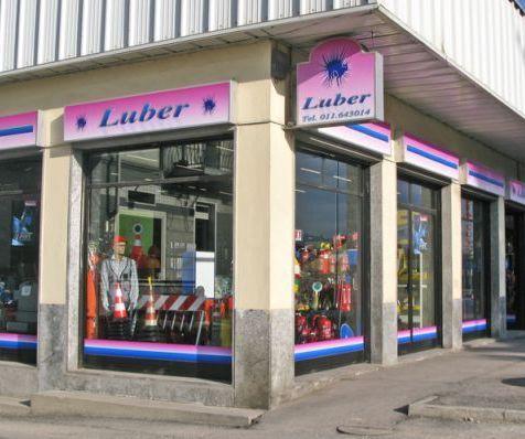 Luber snc esterni sede strada Carignano 40 a Moncalieri