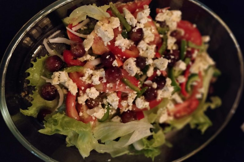 Mock Greek Salad
