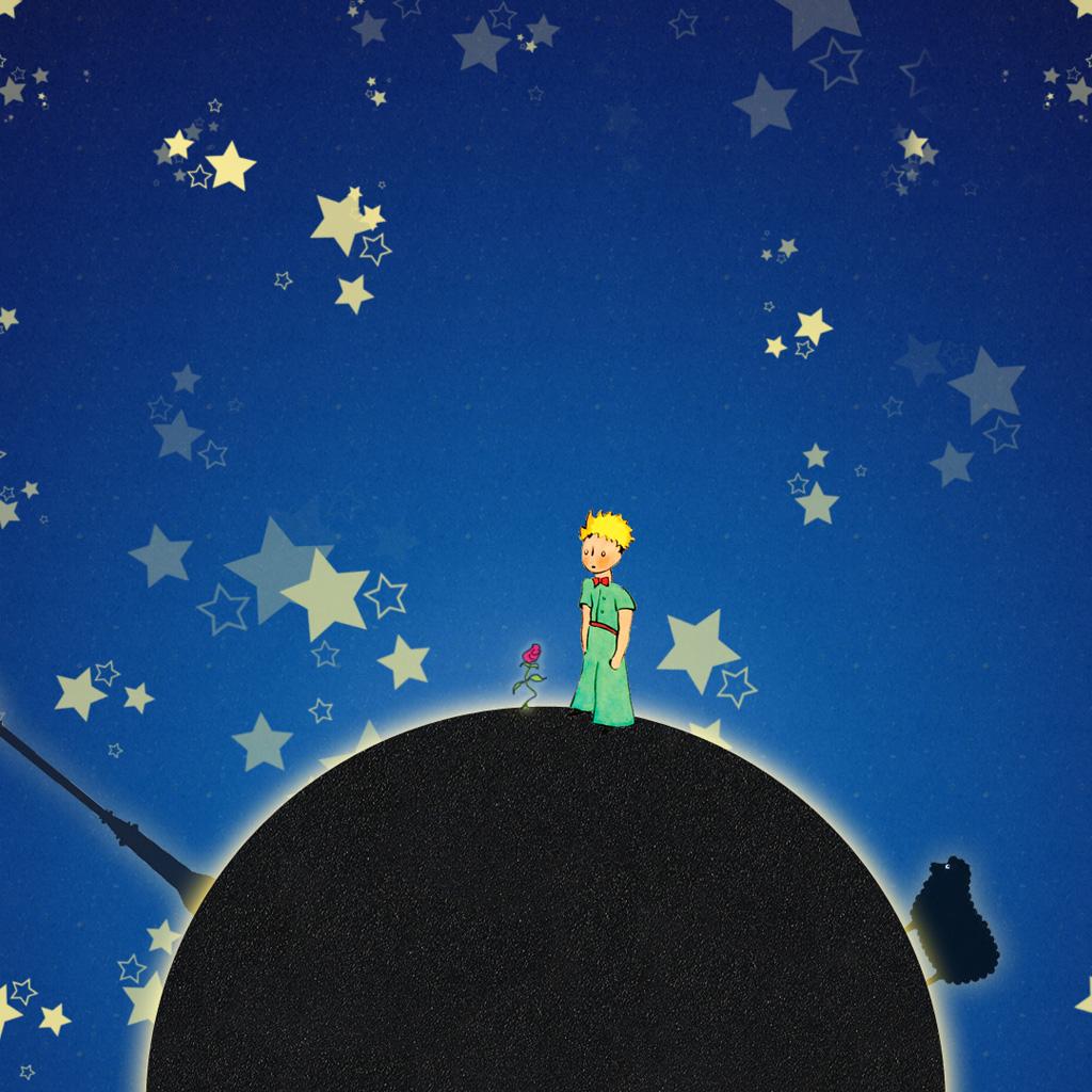 Il piccolo principe e le stelle