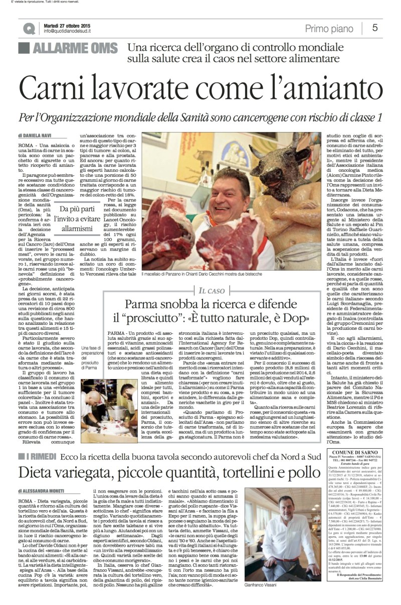 CARNE 27102015_Quotidiano