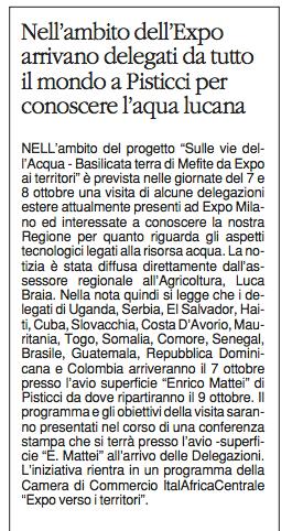ITALAFRICA quotidiano 06 10 2015