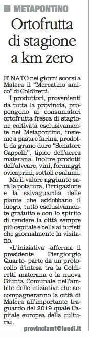 ORTOFRUTTA quotidiano 28 10 2015