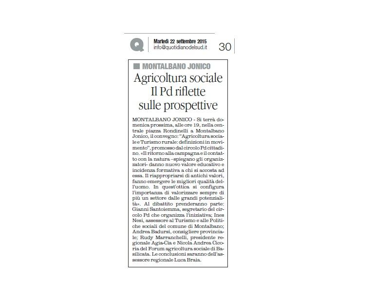 il quotidiano 22.09.15