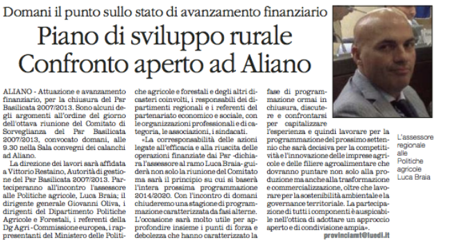 ALIANO quotidiano 17 12 2015